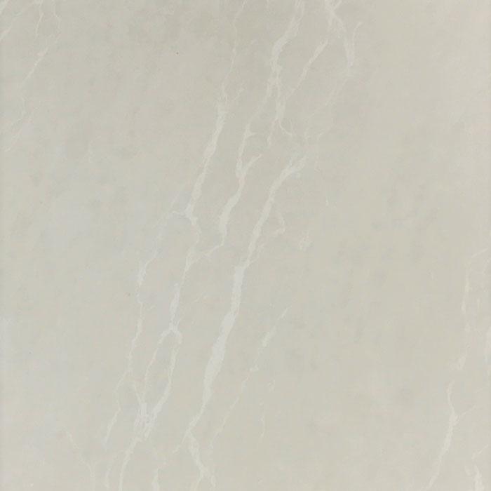 Crema Beige Double Loaded Nano Pre-Sealed Rectified Polished Porcelain Floor Tile 6091