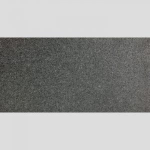 Dark Grey Flanked Finish Granite Look Porcelain Rectified Floor Tile