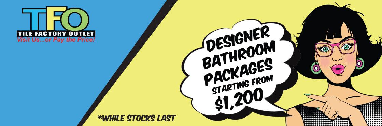 Designer Bathroom Package