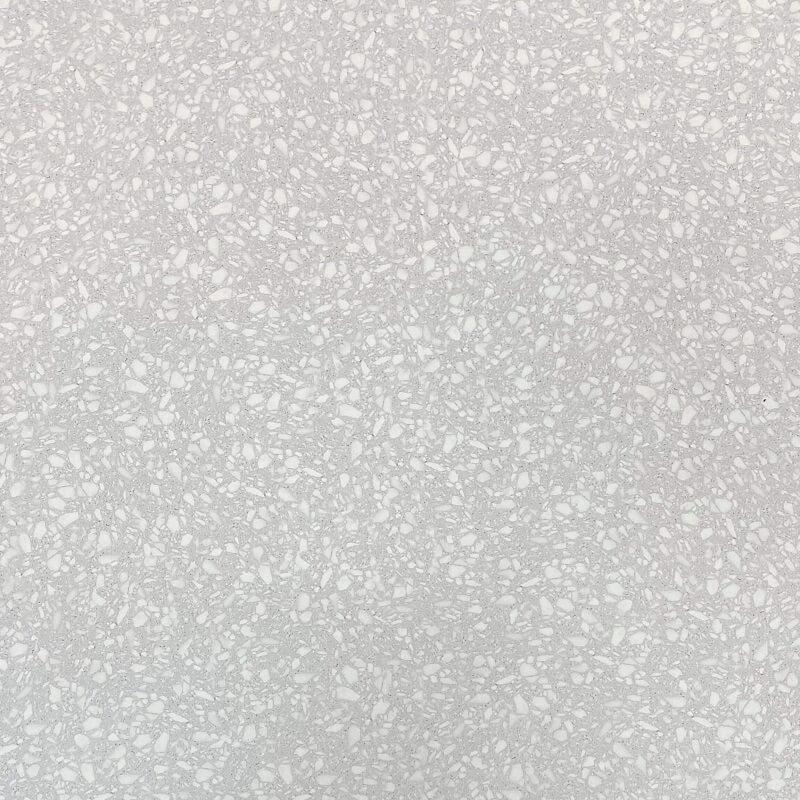 Diamond White Terrazzo Look Matt Rectified Porcelain Tile 3834