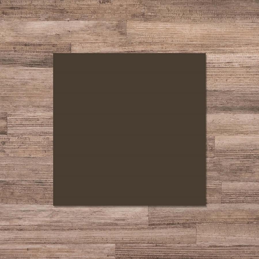 Elements Coffee Gloss Glazed Porcelain Floor Tile 0086