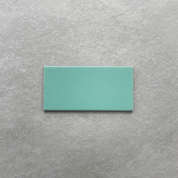 Emerald Gloss Ceramic Spanish Subway Wall Tile 4218