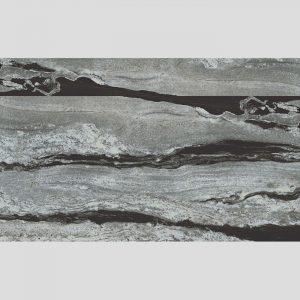 Emperor Black Lappato Rectified Italian Porcelain Floor Tile