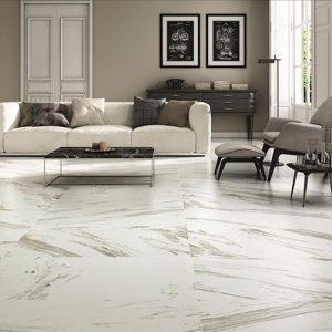 Fedra Blanco Calacatta Look Matt Finish Non-Rectified Spanish Porcelain Floor Tiles