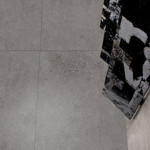 Galaxy Grey Lappato Finish Porcelain Floor Tiles-B