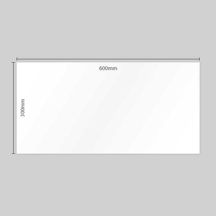 Matt White Rectified Ceramic Wall Tile 3352