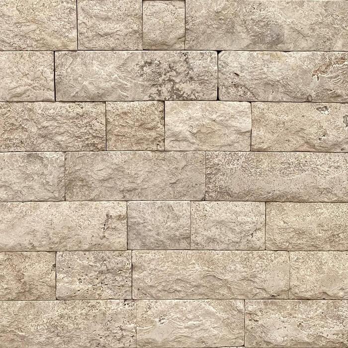 Grano Antiqued Splitface Travertine Wall Cladding 8720