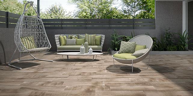 Grenier Almond Spanish Timber Look Porcelain Tiles