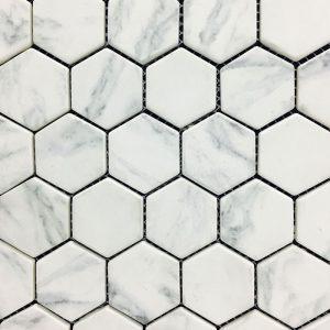 Hexacycle Carrara KP004 Mosaic