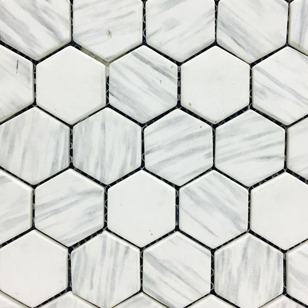 Hexagon Venatino KP002 Mosaic (280x320mm sheet) (#7058)