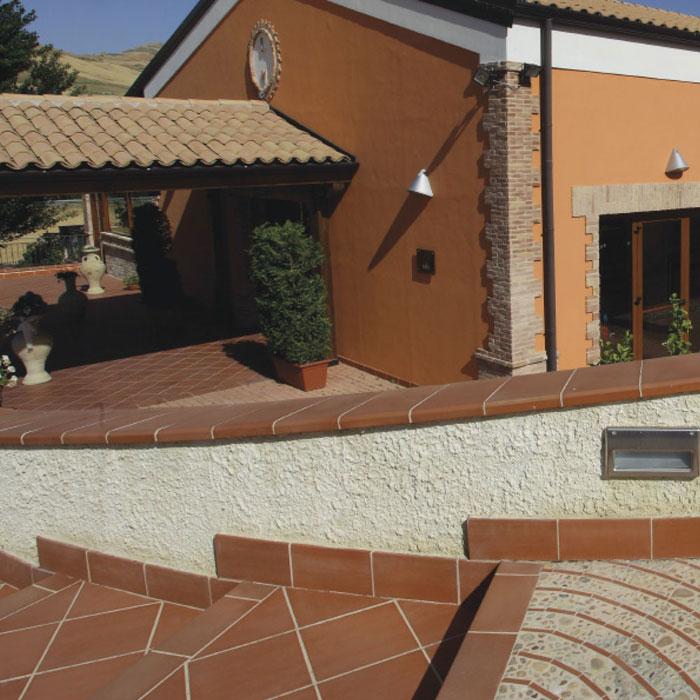 Only 33 m2 italian pre sealed terracotta floor tile italian pre sealed terracotta floor tiles a dailygadgetfo Gallery