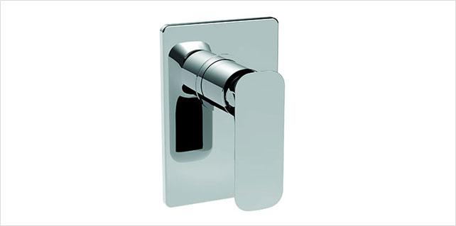 La Torre Laghi Chroome Italian Shower Wall Mixer
