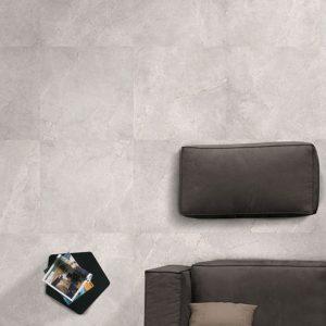 Luna Pearl Matt Rectified Porcelain Floor Tiles