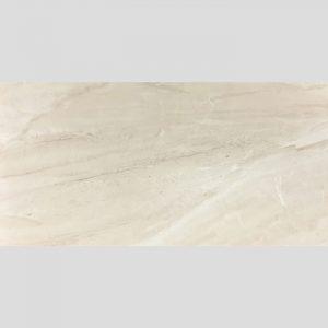 Marmo Cream Glazed Gloss Rectified Ceramic Wall Tile