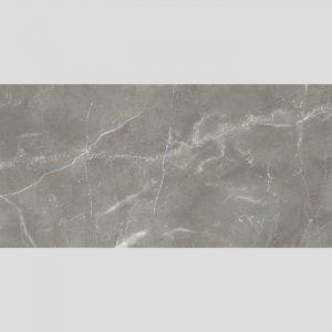 Marmy Grey Spanish Glazed Rectified Polished Porcelain Floor Tile