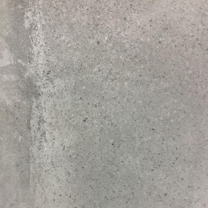 Only 21 m2 mid grey concrete look glazed matt porcelain tile for Cement look tiles