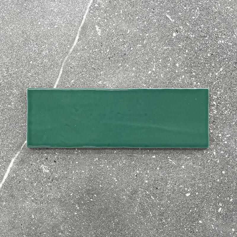 New York Brick Jade Gloss Spanish Ceramic Subway Wall Tile 4250