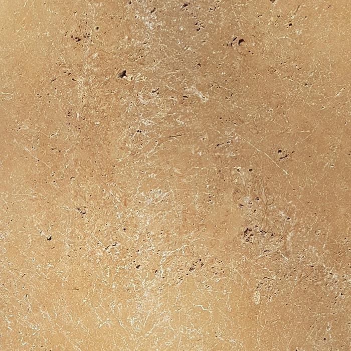 610x610x30mm Noce Flow Mix Tumbled Travertine Paver (#8588)