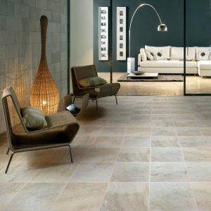 Paris Cream Botticino Honed Finish Marble Tiles