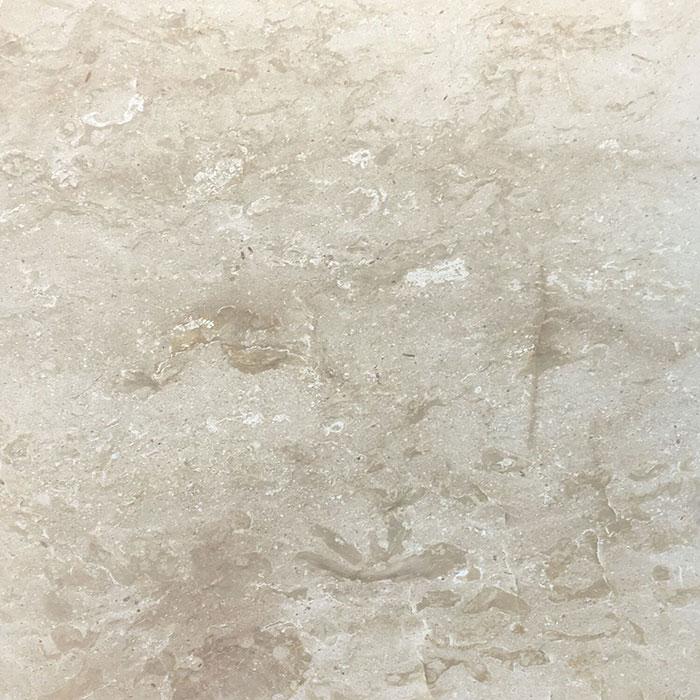 600x600x15mm Paris Cream Honed Finish Botticino Marble Tile (#8602)