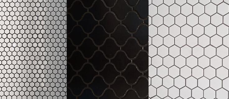 porcelain mosaic wall