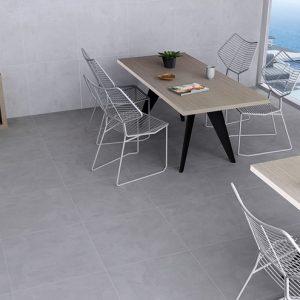 Portland Grey Matt Porcelain Floor Tile