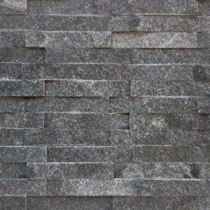 Sparkling Crystal Black Stack Stone