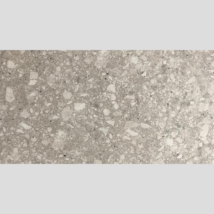 Terrazzo Look Ash Matt Rectified Porcelain Tile (#6671)