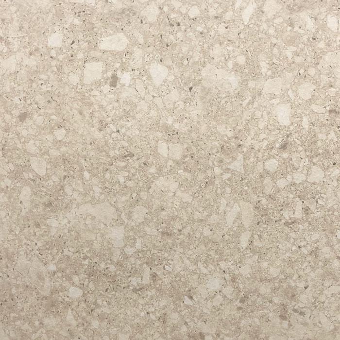 Terrazzo Look Beige Matt Rectified Porcelain Tile (#6667)