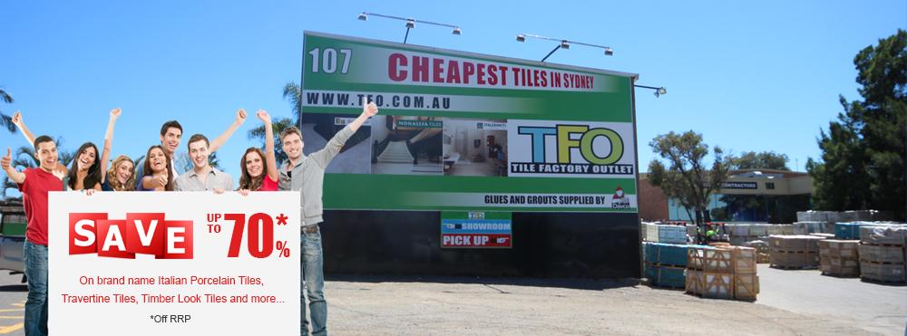 TFO Cheap Tiles Sydney