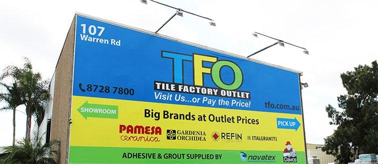 Dove andare a comprare piastrelle a poco prezzo a Sydney? Andate da Tile Factory Outlet, per qualita', prezzo, facilita' e risparmiare tempo. (Italian)