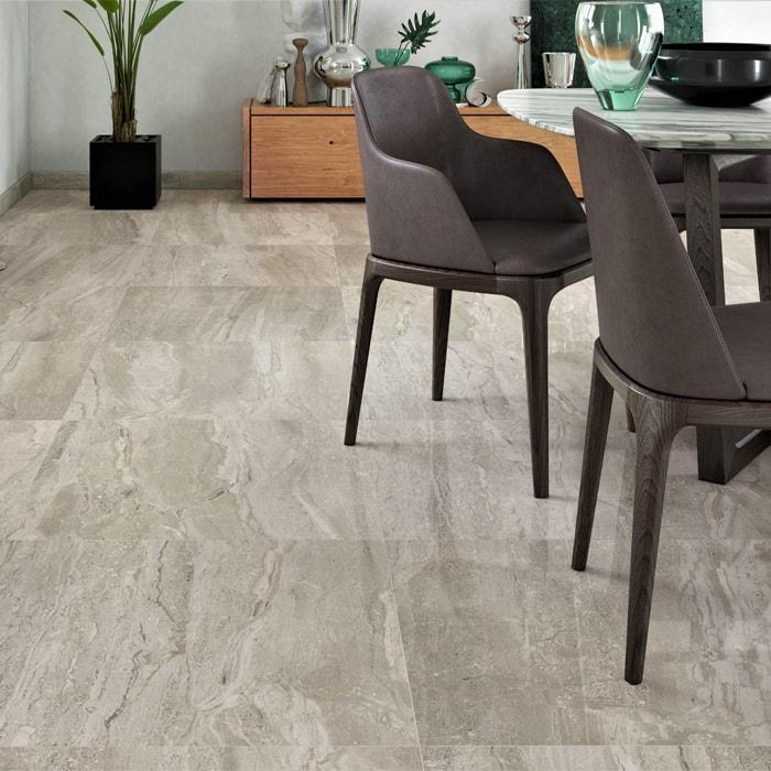 Atrium Kios Gris Glazed Porcelain Floor Tile: Only $22 M2! Trentino Gris Glaze Gloss Spanish Porcelain Tile
