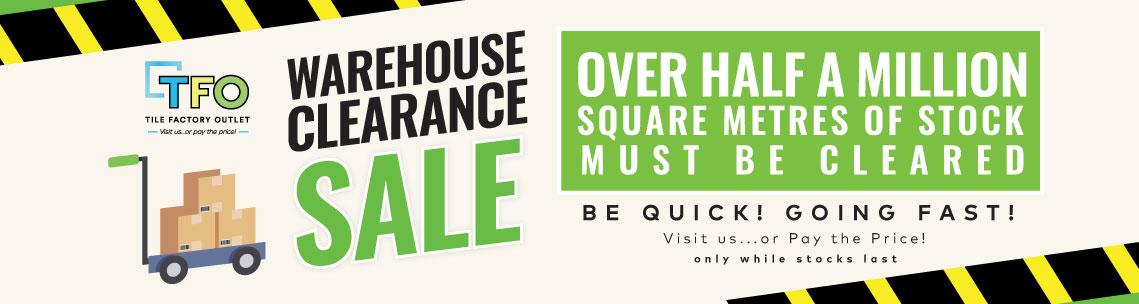Warehouse Sale 1139x304