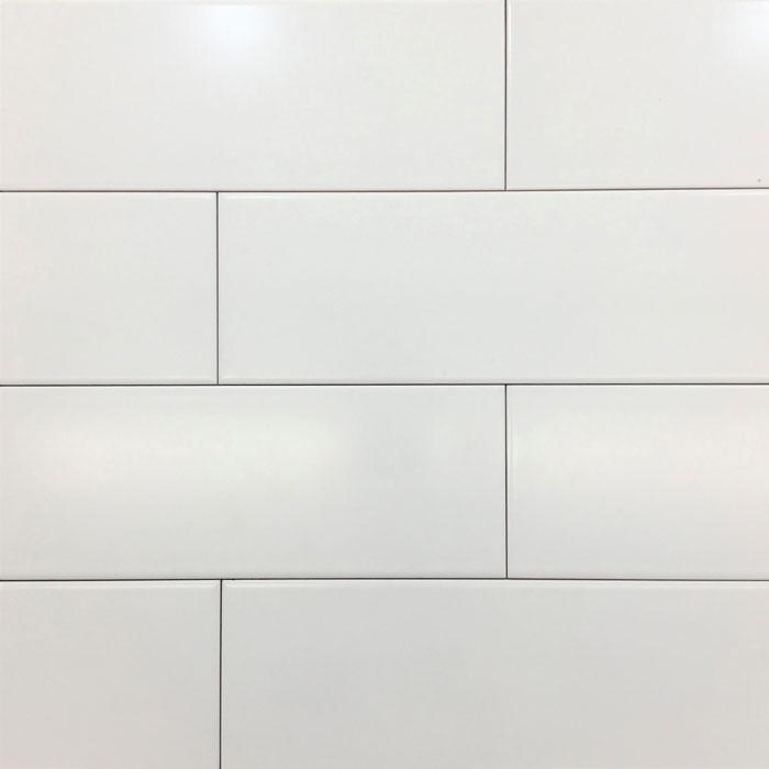 Only $13 m2! White Matt Ceramic Subway Wall Tile at Sydney